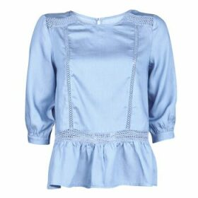 Betty London  KOCLE  women's Blouse in Blue