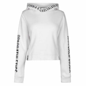 SoulCal Crop Hoodie - White