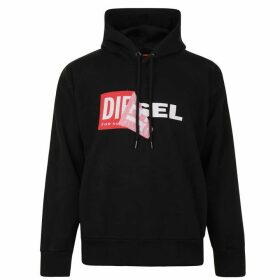 Diesel Logo Hooded Sweatshirt - Black 900