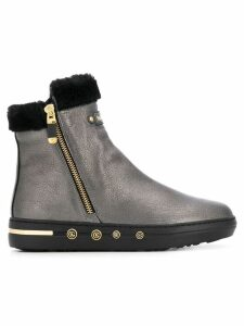 Baldinini shearling ankle boots - Grey