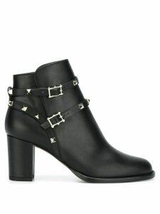 Valentino Valentino Garavani Rockstud Noir ankle boots - Black