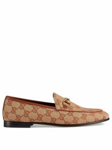 Gucci Gucci Jordaan GG canvas loafers - Neutrals