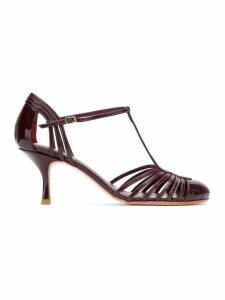 Sarah Chofakian Chamonix sandals - Red