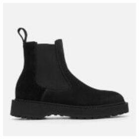 Diemme Women's Alberone Suede Chelsea Boots - Black