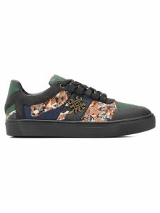 Mr & Mrs Italy camouflage tape skate sneakers - Green