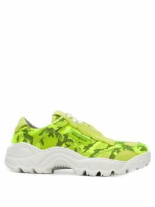 Rombaut camouflage sneakers - Green