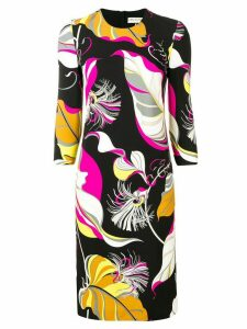 Emilio Pucci Frida Print Jersey Dress - Black