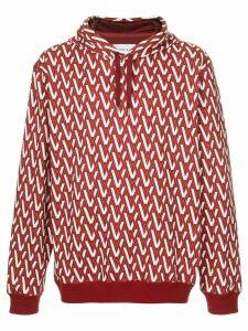 Ports V hooded sweatshirt - Red