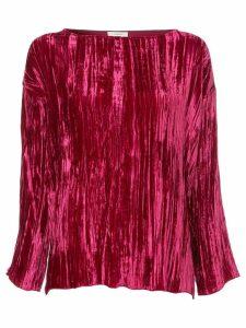 Forte Forte velvet effect bouse - Pink