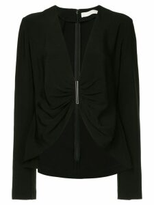 Dion Lee cinched detail blouse - Black