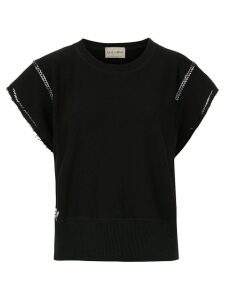 Andrea Bogosian embroidered blouse - Black