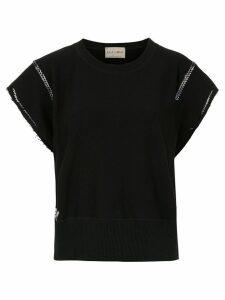 Andrea Bogosian embroidered blouse - Black