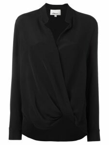3.1 Phillip Lim silk wrap blouse - Black