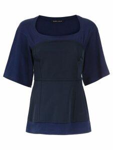 Gloria Coelho corselet top - Blue