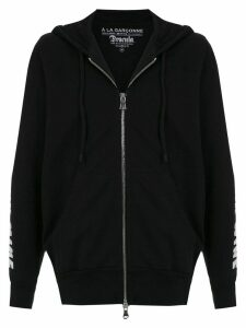 À La Garçonne hooded Drácula sweatshirt - Black