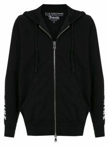 À La Garçonne hooded Drácula sweatshirt - Black