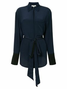 Sykes belted shirt dress - Blue