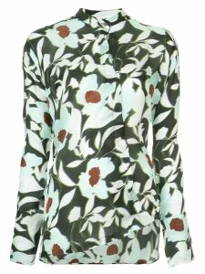 Christian Wijnants floral print shirt - Multicolour