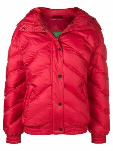 Perfect Moment oversized puffer jacket - Red
