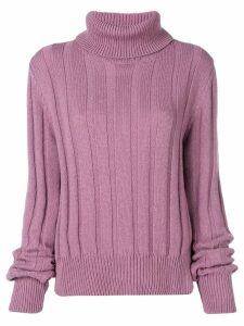 The Gigi turtle neck jumper - Pink