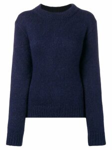 Stephan Schneider slicked sweater - Blue