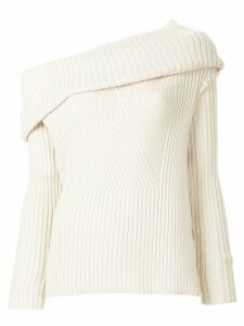 Ujoh off-shoulder jumper - White