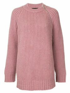 Calvin Klein 205W39nyc knitted sweater - PINK