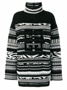 Givenchy textured roll-neck sweater - Black