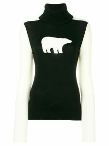 Perfect Moment Bear jumper - Black