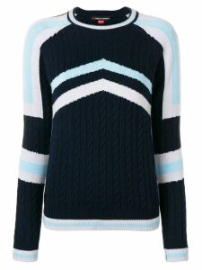 Perfect Moment Tignes jumper - Blue