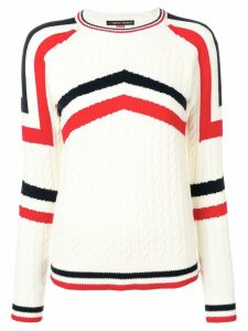 Perfect Moment Tignes jumper - White