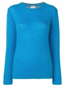 Moncler knitted sweater - Blue