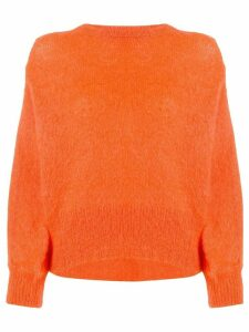 Maison Flaneur crewneck jumper - Orange