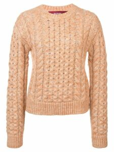 Sies Marjan cable knit sweater - PINK