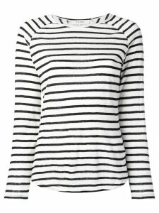 FRAME longsleeved striped jumper - White