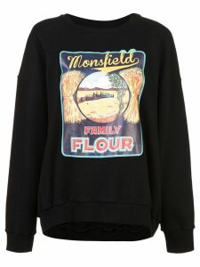 Monse Monsfield sweatshirt - BLACK