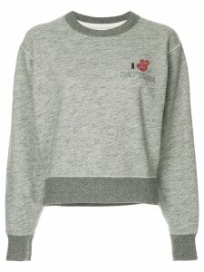 Rag & Bone cropped sweatshirt - Grey