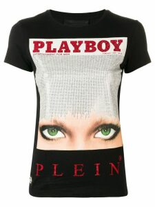 Philipp Plein Philipp Plein x Playboy cover T-shirt - Black