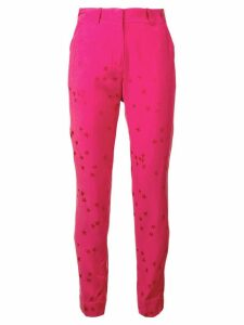 Equipment star print trousers - PINK