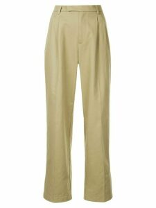 Walk Of Shame straight leg trousers - Brown