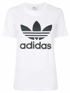 adidas Adidas Originals Trefoil logo T-shirt - White