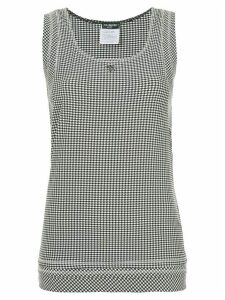 Chanel Pre-Owned Chanel sleeveless top - Black