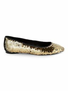 Sequence Sequin Flats