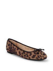 Charlotte Leopard Ballet Flats