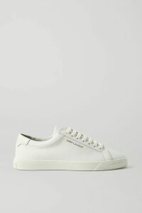 SAINT LAURENT - Ruffled Georgette Blouse - Black