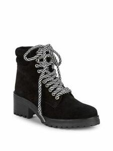 Glacie Block Heel Suede Active Boots