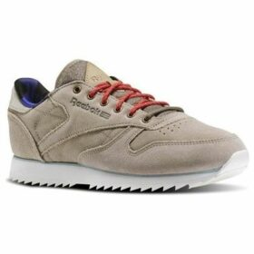 Reebok Sport  CL Lthr Outdoor  women's Shoes (Trainers) in Brown