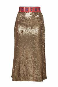 Stella Jean Sequin Pencil Skirt