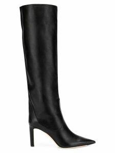 Jimmy Choo black Mavis 85 boots