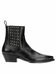 Saint Laurent Lukas Camperos studded boots - Black